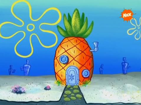 sponge-bob house picture