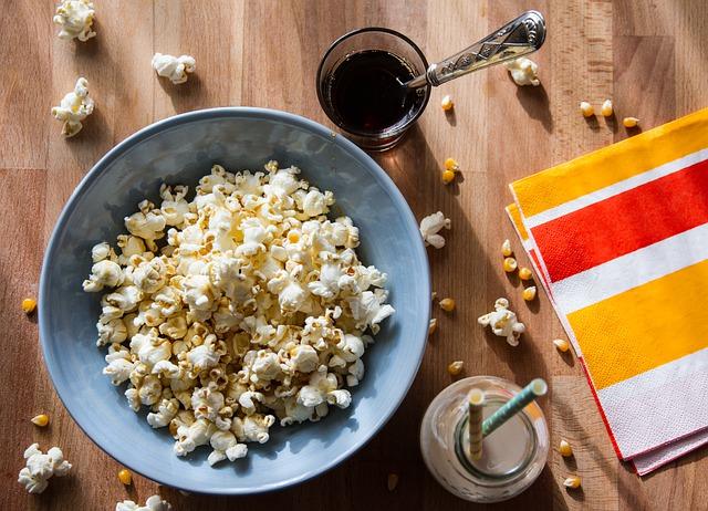 cute phrase popcorn picture